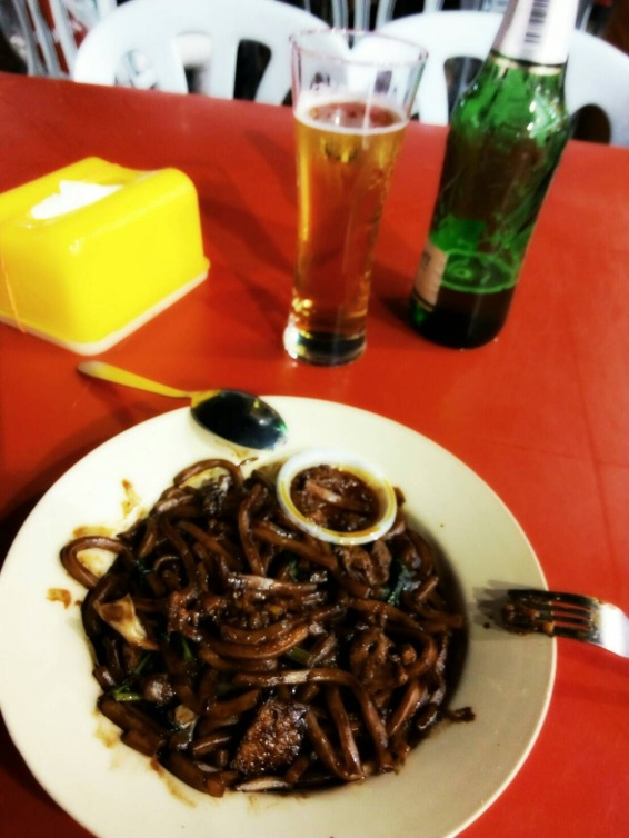 Turns out I was having Hokkien mee!