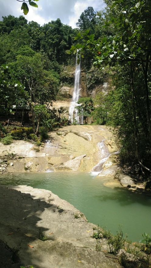 Can-Umantad Falls in Candijay, Bohol